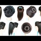 Simple girls hair style