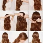 Simple n beautiful hair style