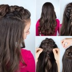 Simple style hairstyles