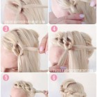 Tied up hairstyles for short hair