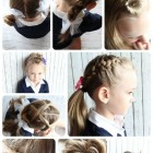 Very easy hairstyles for girls