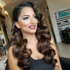 Vintage wave hairstyles for long hair