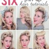 Womens pin up hairstyles