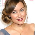 Hairstyles for wedding guests medium hair