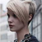 Long to short pixie haircut