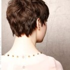Pixie cut from the back