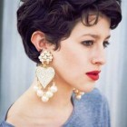 Pixie cut hairstyles for curly hair
