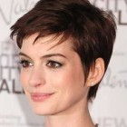 Pixie short hair cut