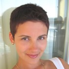Really short pixie haircuts