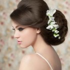 Wedding gown hairstyles