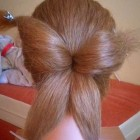 Butterfly hairstyle