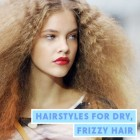 Hairstyles for dry curly hair