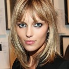 Hairstyles for fine thin hair with bangs