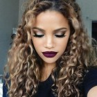 Hairstyles for long and curly hair