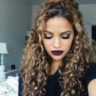 Hot hairstyles for curly hair