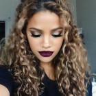 Natural curly hairstyles 2018