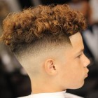 Popular haircuts for curly hair