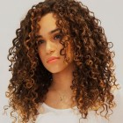 Popular hairstyles for curly hair