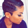Really short hairstyles for black hair
