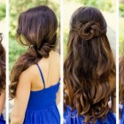 Some hairstyles for curly hair