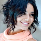 Trendy short haircuts for curly hair