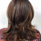 All over layered hair