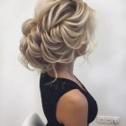 Blonde hair up styles