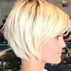 Current hairstyles for short hair