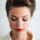 Fifties hair and makeup