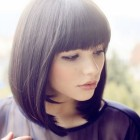 Full fringe hairstyles short hair