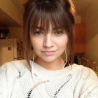 Hairstyle ideas with bangs