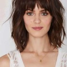 Hairstyles for people with fringes