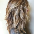 Layered look hairstyles