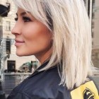 Medium haircuts for women with layers