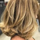 Medium length haircuts with lots of layers