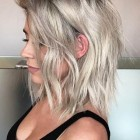 Mid layered hairstyles