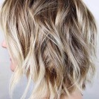 Mid length short layered hairstyles
