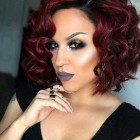 Short curly bob weave hairstyles