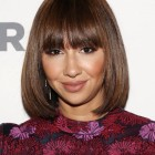 Short hairstyles with full fringe