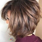 Short to mid length layered hairstyles