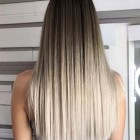 Straight blonde hairstyles