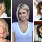 Hairstyles bobs 2018
