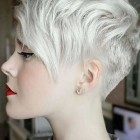 Short cropped hairstyles 2018