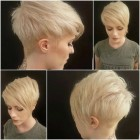 Trendy short hairstyles 2018