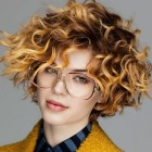 Very short curly hairstyles 2018